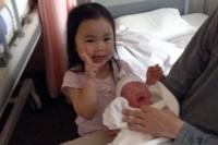 紗來と赤ちゃん