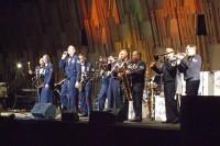 米国空軍太平洋音楽隊の演奏