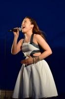 ジュピターを熱唱する平原綾香さん