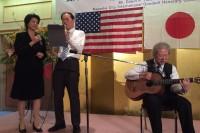 ハワイ日米協会新会長とデュエット