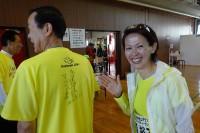 有森さんのサイン入りハートオブゴールドTシャツ