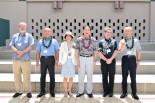 長岡造形大学・ハワイ大学交流調印式後の記念撮影