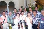 平原綾香さんを囲んで長岡市議会議員と市民訪問団