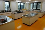 IH調理台を備えた調理室