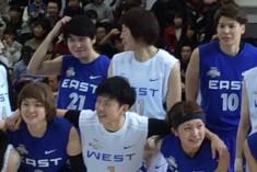 MIPの大神雄子選手(前列中央)